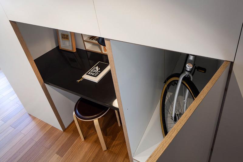 還有活用各種空間~超聰明的收納設計唷!