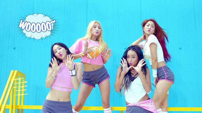 正是4人團體Sistar 她們這周帶著第三張迷你專輯《Shake It》回歸樂壇