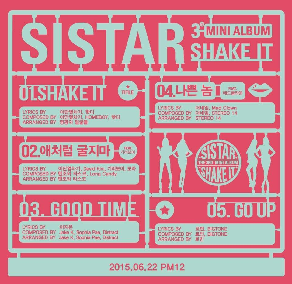 雖然鄉民們沒有怪罪Sistar 因為歌也不是她們寫的~(看第4首的作曲人) 只是為俊秀抱屈,因此留言聲援