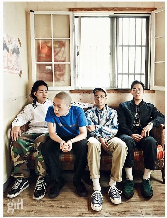 另外還公布第四組參加者 是去年下半年崛起的獨立樂團혁오(Hyukoh) 取自主唱吳赫(오혁)的名字反過來唸