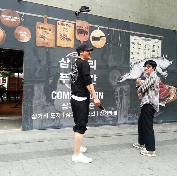 不為別的!原來是YG大老闆老楊開了烤肉餐廳啦!