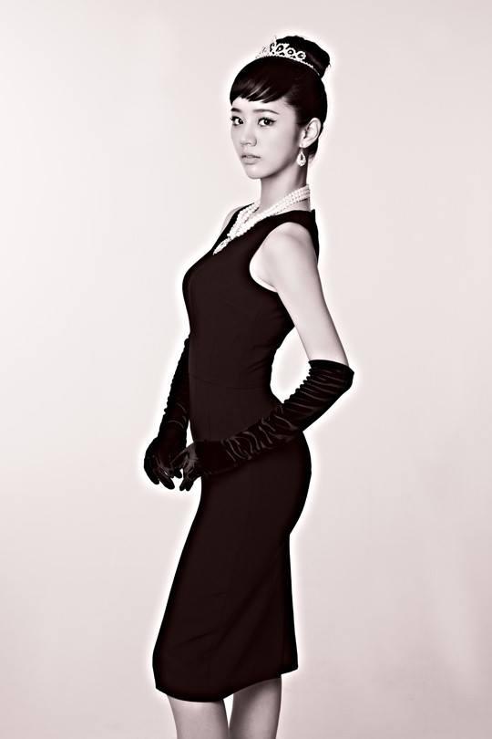 4位少女化身4大女神~首先老么惠利演繹傳奇的美女奧黛莉赫本