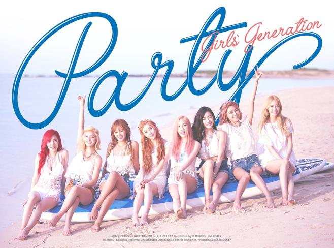 首先是韓國第一女子天團少女時代! 公開了回歸預告照! 照片裡面~8妞穿得好夏天~呼應主題曲《Party》的愉悅感!