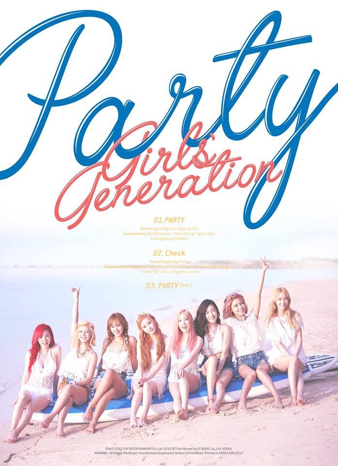 經紀公司也公布,這次8妞將帶來睽違2年的第5張正規專輯 主打歌有3首,先行主打曲是《Party》,另外兩首名叫《Lion Heart》及《You Think》
