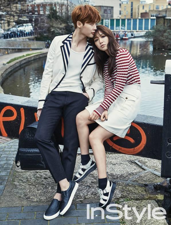 例如3月份時,兩人以戀人的概念擔任《Instyle Korea》雜誌模特兒 遠赴英國拍攝照片