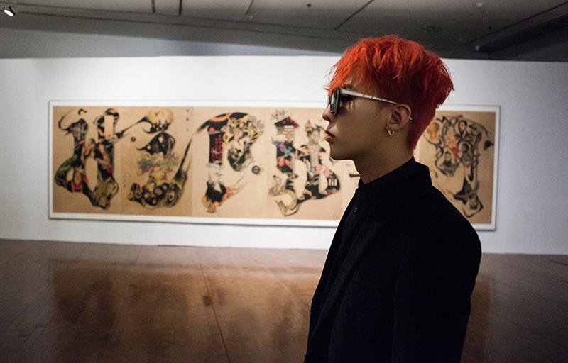 G-DRAGON說:「我很喜歡看美的東西,包括美的幻想、衣服、女人和音樂。」