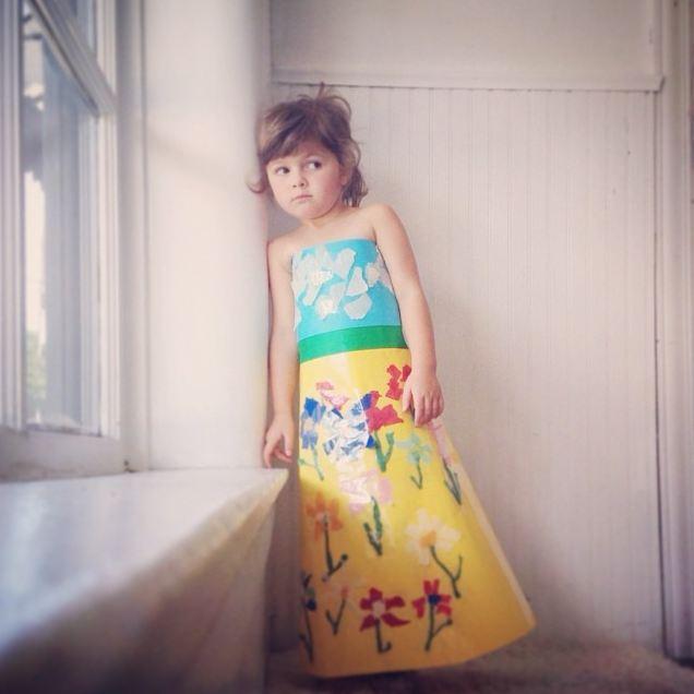 每天都穿不一樣的裙子:)