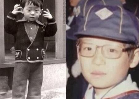 劉大神小時候的照片~跟現在的模樣有點像呢!:)