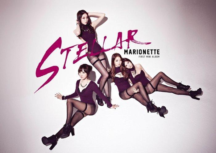 4人女團Stellar去年推出的歌曲《Marionette》 因為太性感而引起爭議