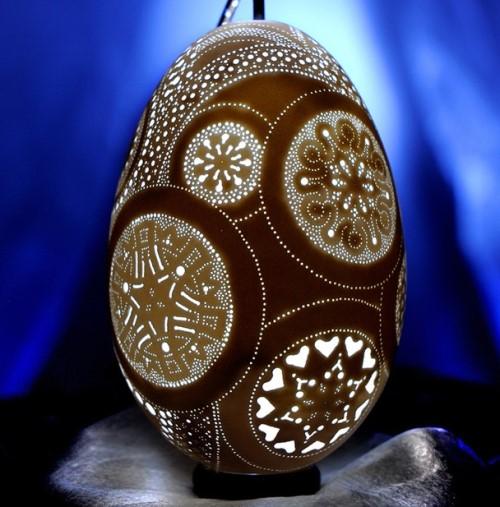 而且最多還可能做到17,000個洞,在一顆蛋身上!(超級驚人吧!?)
