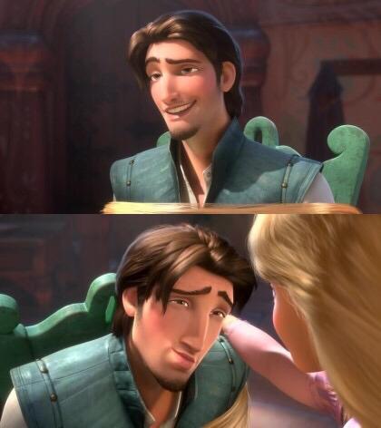 不過大家不覺得始源越看越像迪士尼動畫《長髮公主》裡的男主角嗎?(笑)
