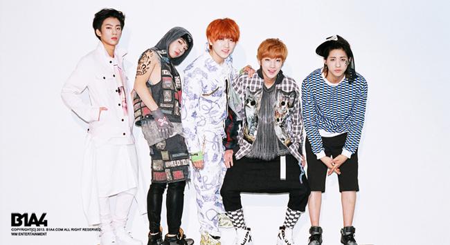 B1A4:757天 奪冠歌曲:What's Happening?