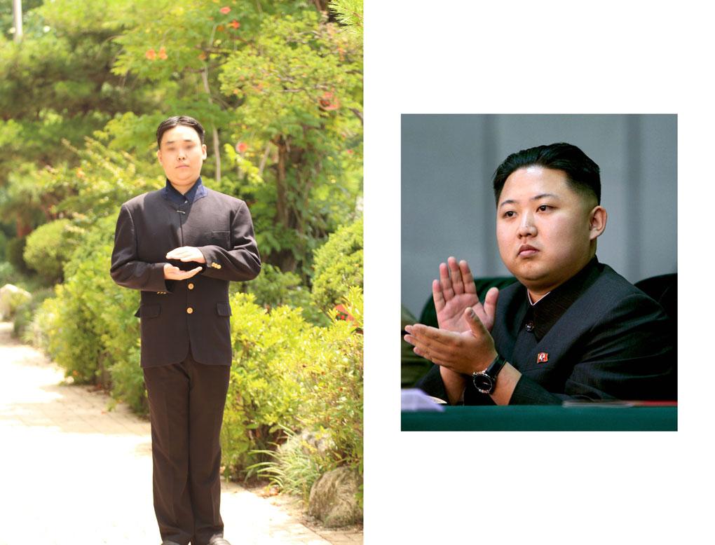 最後是扮演名人版 有北韓老大