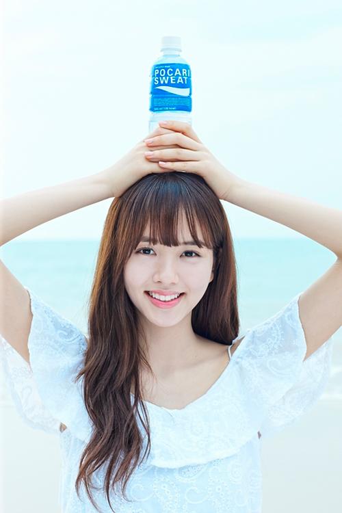 金所炫是寶礦力水得的最新女神!!!