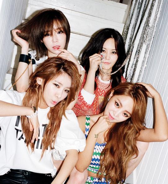 Narsha基因太強了~是Brown Eyed Girls!!!