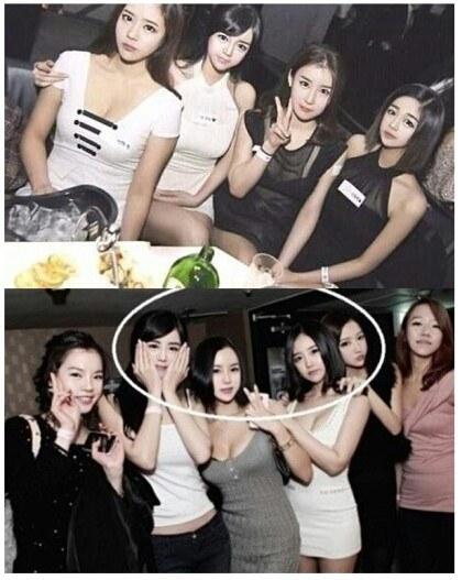 傳說中的複製人軍團~突然覺得下方照片最旁兩邊的女孩長得最有特色!