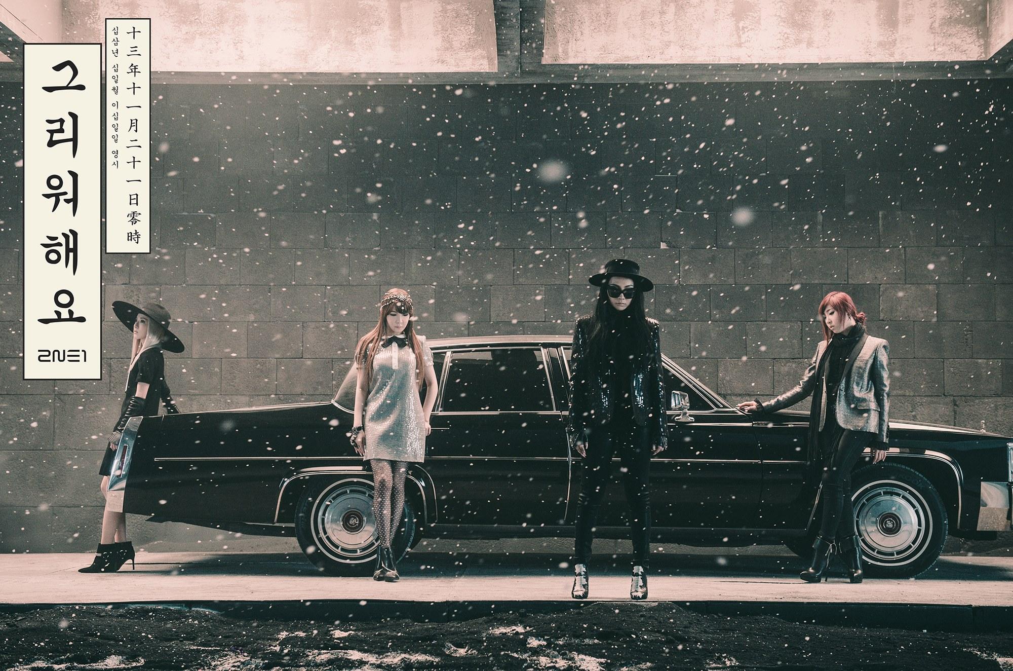 不管是韓國還是海外,粉絲紛紛表達他們的想念  「2NE1的歌很好聽說」 「繼續等待中,先等CL在美國出道之後換2NE1寶貝們~」