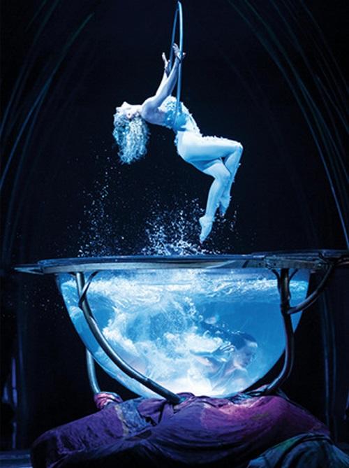 一般人對於馬戲團的想法都是娛樂,而太陽馬戲團卻讓人對馬戲團大大改觀!是人體藝術呀!!!!