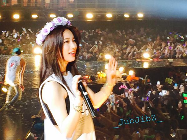 今天要告訴你國民初戀女神秀智不為人知的一面!去年一場在泰國舉辦的JYPNation演唱會...