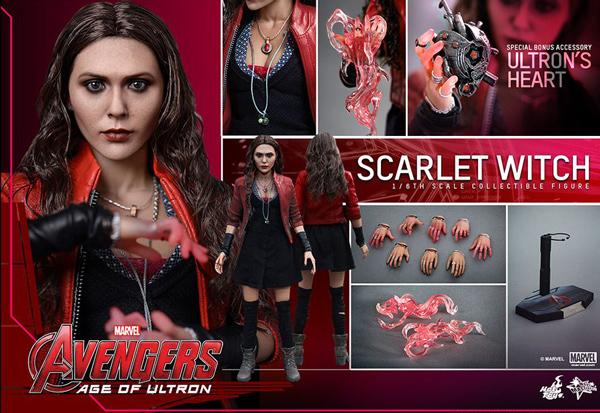 以及,最近在《復仇者聯盟》出現的「緋紅女巫」