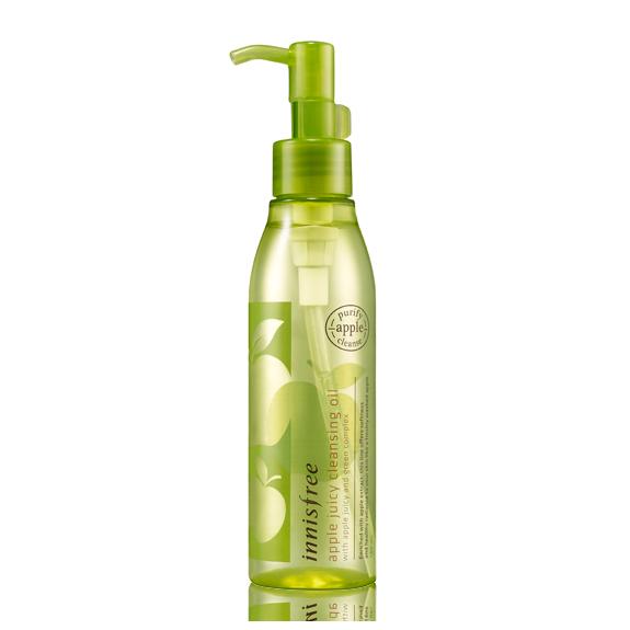 Apple Juicy卸妝油 / innisfree / 150ml 台幣售價約370元  獲得4-Free安心處方認證的產品,是敏感皮膚也能夠安心使用的卸妝油。洗淨力強,不會黏膩,是款可以乾淨卸妝的產品。