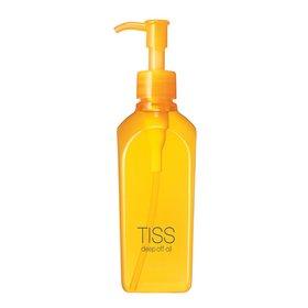 TISS深沉卸妝油 / 資生堂 / 230ml / 台幣售價約515元   黑頭、粉刺、角質等,因皮膚乾燥而產生的問題的朋友們,這就是為你們所準備的卸妝油!優越的洗淨力,洗臉時,就算油脂跑到眼睛裡面也不會刺痛的溫和卸妝油。