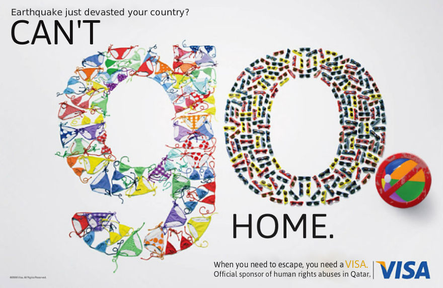 #VISA LOGO Can't go home....