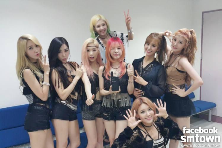 首先是最高榮譽!不管以韓國粉絲人數或海外人氣都超高的少女時代!