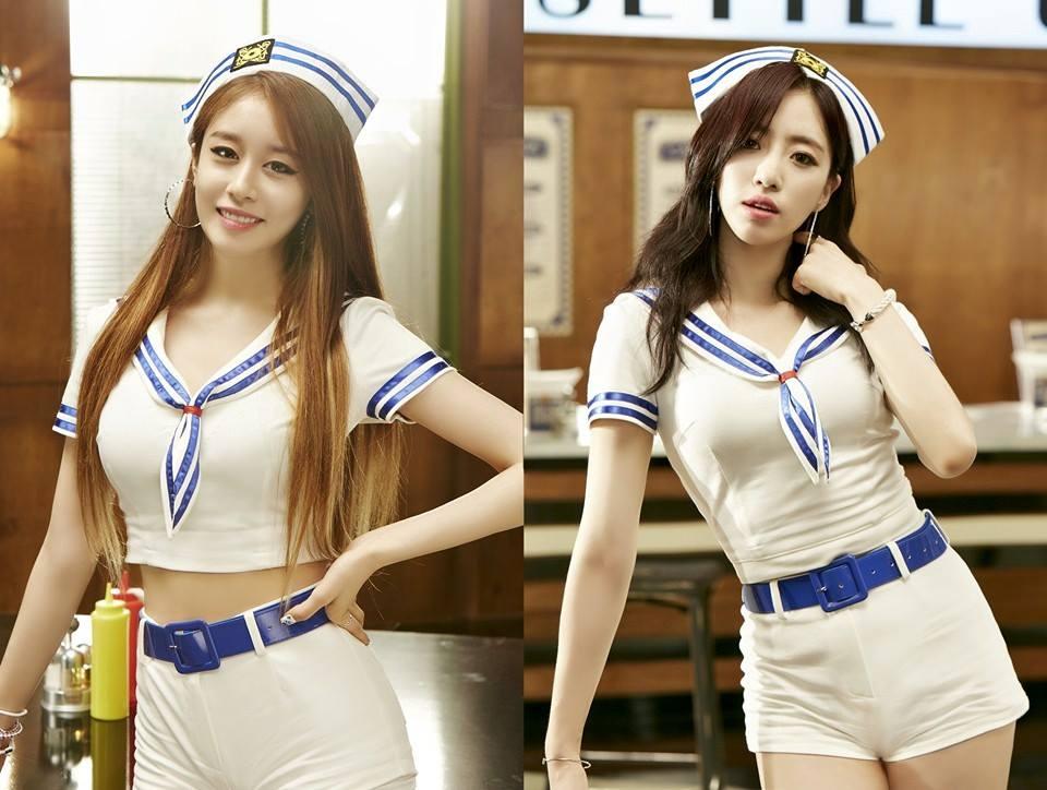 新歌《完全瘋了》搭配海軍風?看起來又會是很中毒的夏季舞曲! 8/4公開專輯,巧妙與Wonder Girls錯開一天!