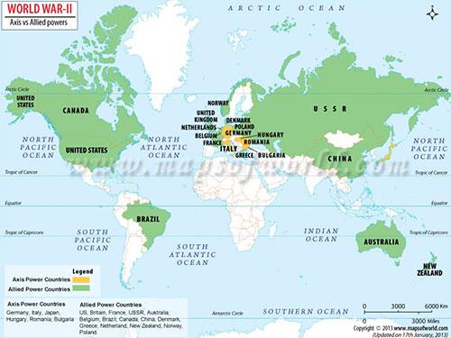 另外,全世界的五大陸,六大洋,都是戰爭面積!因此才被稱為「世界大戰」!