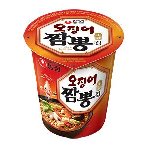 第十名:農心 章魚海鮮麵  銷售額:144億韓元