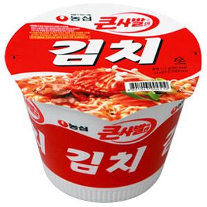 第九名:農心 泡菜麵<大碗裝> 銷售額:145億韓元