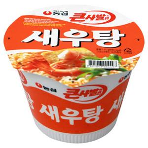 第四名:農心 鮮蝦湯<大碗裝> 銷售額:320億韓元