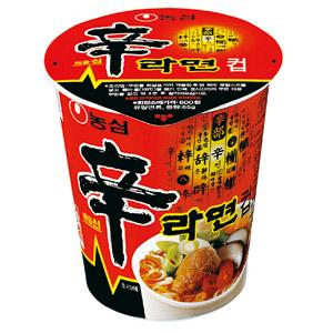 第二名:農心 辛拉麵 銷售額:590億韓元