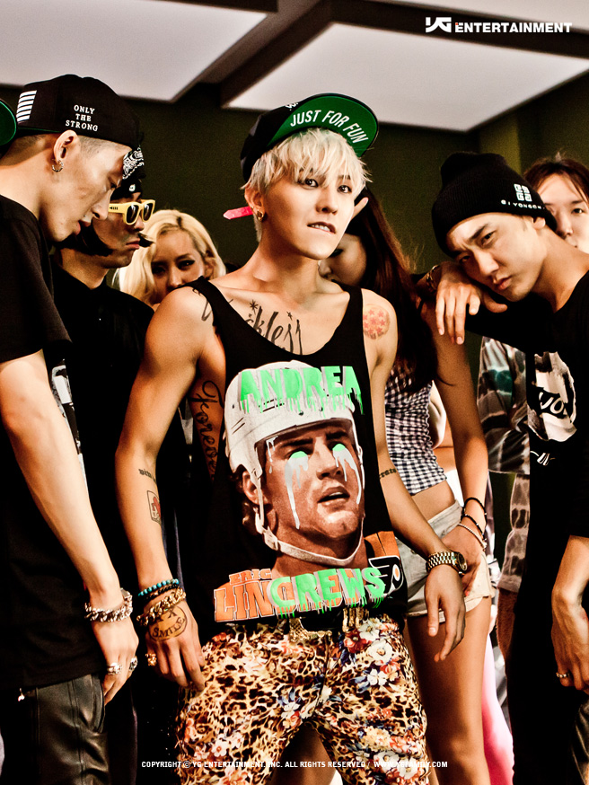 1.BIGBANG G-Dragon