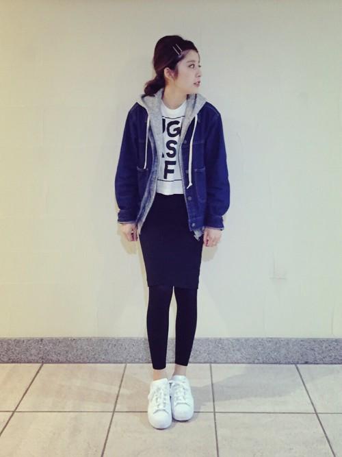 >>>褲子×白布鞋