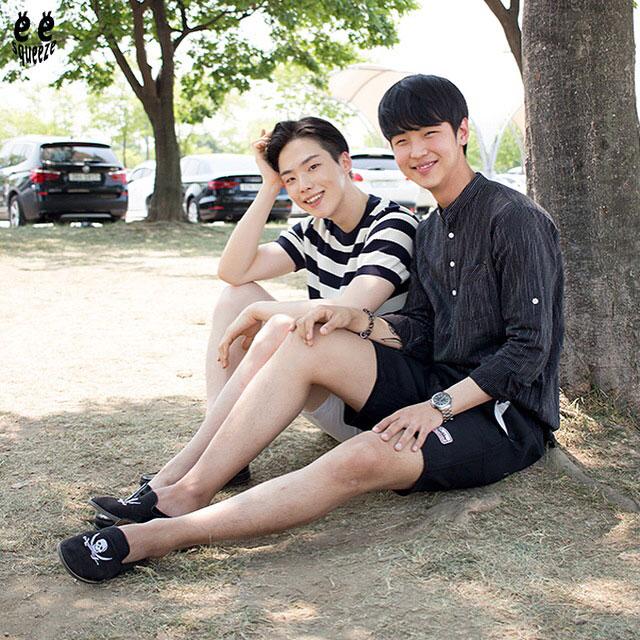 小編介紹了那麼多種韓國歐巴/小鮮肉搭配,現在有沒有覺得短褲其實沒那麼難搭,和短褲有沒有混熟了的感覺?那就趕快穿穿看!別害羞了!