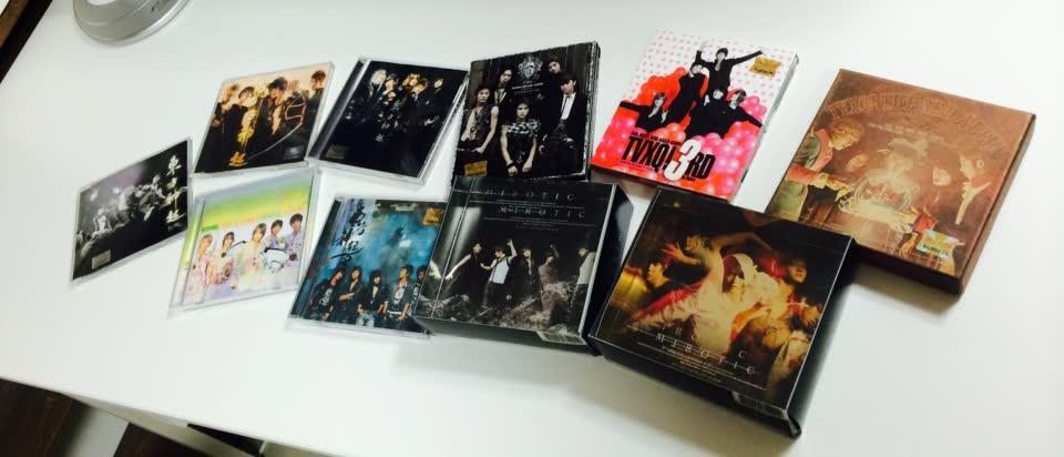 還有迷你專輯,單曲,DVD等等