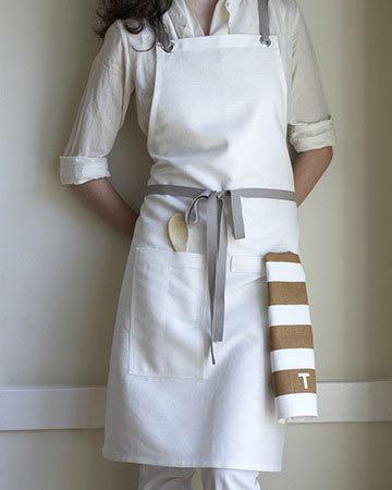 煮拉麵的時候,乾淨好看的圍裙是一定要的