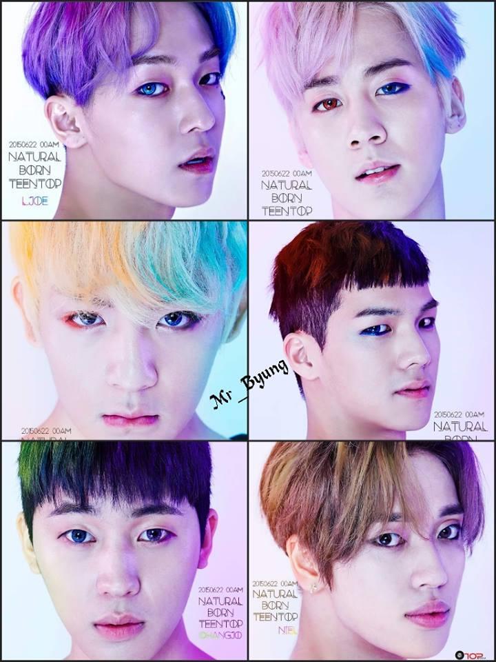沒錯!正是6人團體TEEN TOP!!!!!!今天我們請到他們來做什麼呢?