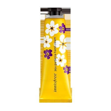 濟州島梔子花護手霜/ 30ml / 3,500韓圜(台幣約100元)  推薦的小編說:不論保濕力或是吸收力都很好的一款護手霜。雖然沒有親眼看過梔子花,但是好像可以聯想到是什麼樣子的花一樣,香氣很棒,一擦上它,就覺得很女人味XD 跟LANVIN某款香水的味道好像~嘻嘻