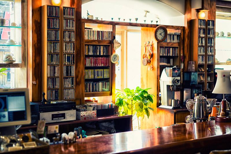 咖啡廳的內部環境非常別緻,感覺來這裡可以度過一個悠閒下午