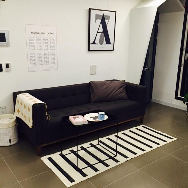 沙發的挑選很重要,要能夠搭配家中風格、大小也要適中