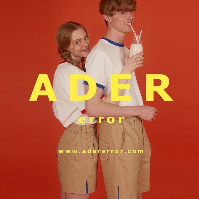#ADER error | 色彩艷麗、最潮流的設計剪裁