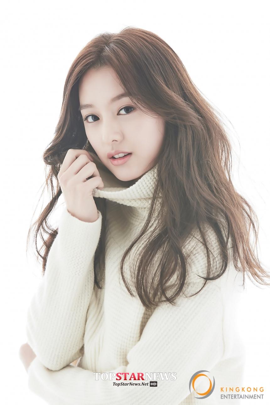 帶點韓國女演員金智媛的感覺~