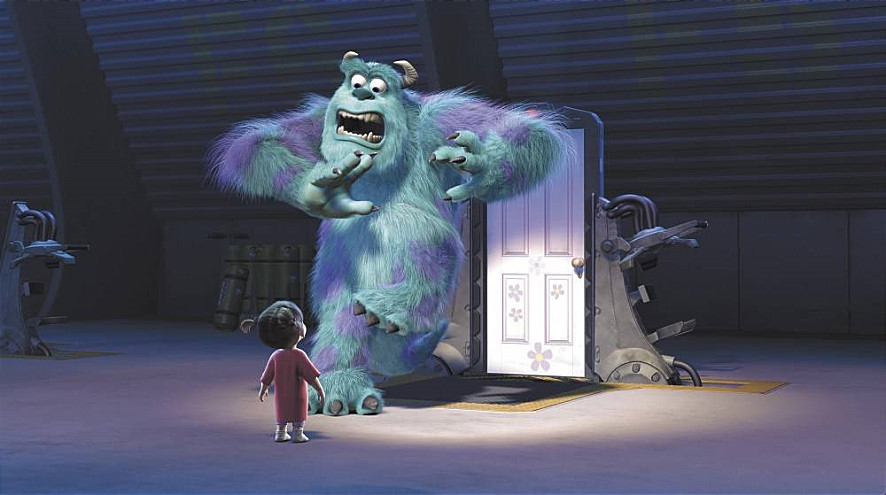 候選 3. <怪獸電力公司>中的門