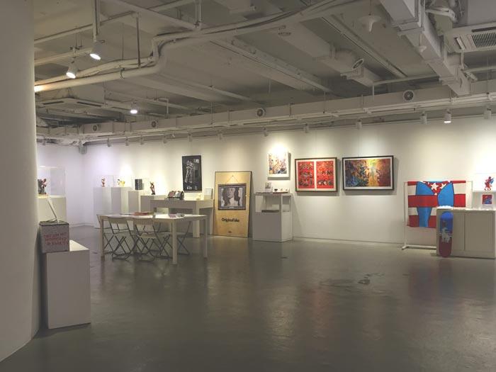 這裡展示著很多韓國國內外名家的作品