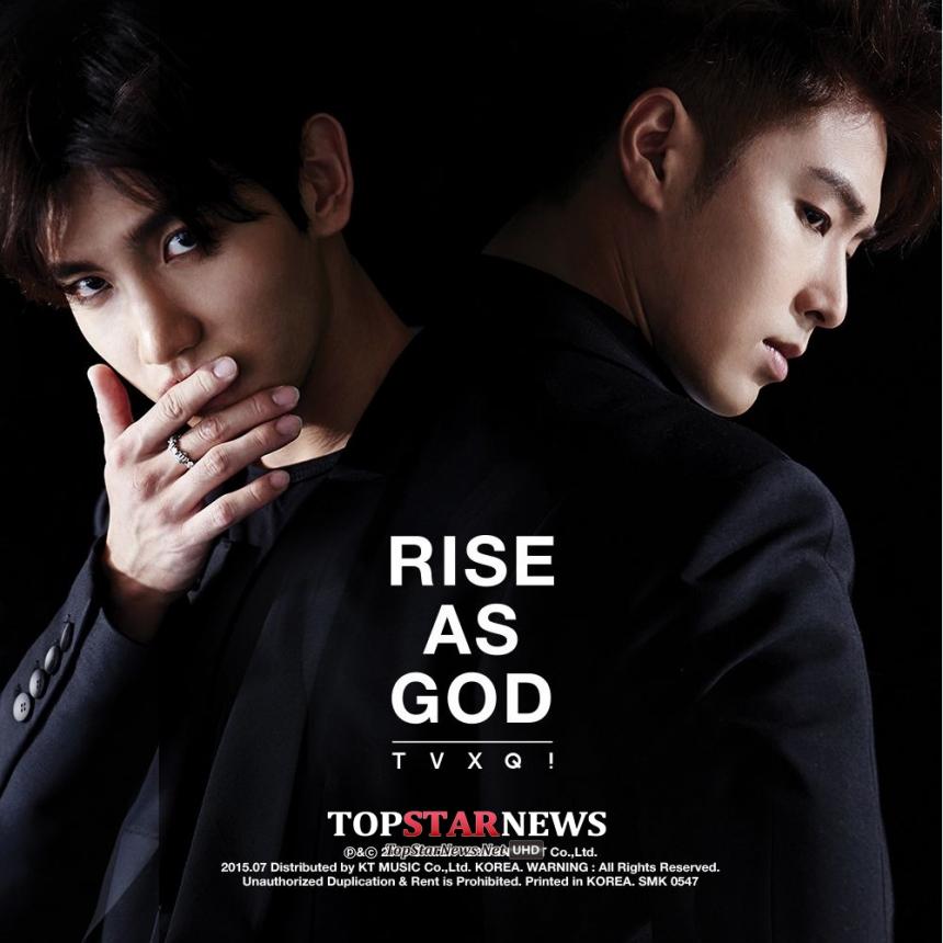 東方神起推出特別專輯《RISE AS GOD》(未宣傳)