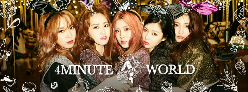 TOP 4. 4Minute  Chanel ID:4Minute 포미닛(Official YouTube Channel) 訂閱數:1,124,973