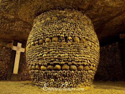#4位 法國巴黎的地下墓室(The Catacombs of Paris)